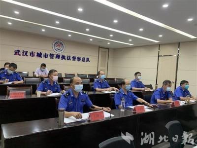 武汉城管进行降噪护考行動,高考冲刺期内噪音扰民最大罚十万