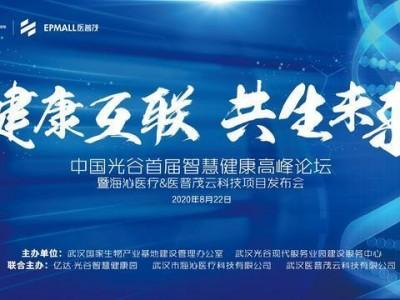 凝聚力领域能量助推武汉经济提振,中国光谷第一届智慧健康峰会22日打开