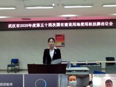 武汉市一宗地快拍得13.46亿人民币