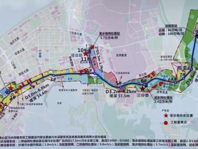 """大东湖深埋隧道的主隧道穿越水体,武昌市区一半的污水""""驶入""""地下""""快车道"""""""