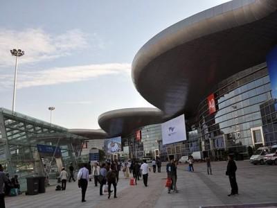 """""""健康博览会""""展览启动,展览期间只有出租车可以进入郭波公交枢纽中心"""