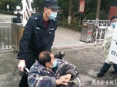 """武汉启动""""冬送暖""""专项救援,中心城市将在一小时内到达现场。"""
