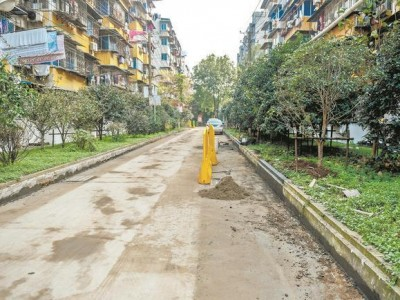 """352个小区开工建设,按下""""快进键""""进行建设改造,江城老小区创下新高。"""
