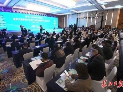 宜昌、荆州、襄阳农业局现场招商,推广当地农业项目。