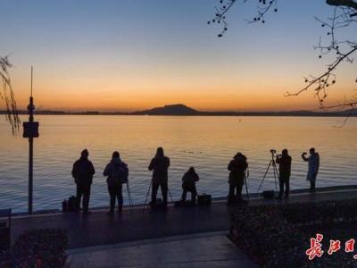 追光、赏梅、观鱼、许愿……你的新年第一天,东湖承包了。