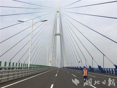 五年建成十一座长江大桥,湖北建桥数量居全国第一。
