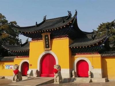 从今天开始,归元寺恢复开放。