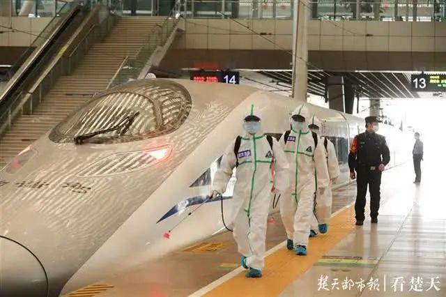 关注|等待重启!武汉火车站全面消杀,为解除管控做准备 第3张