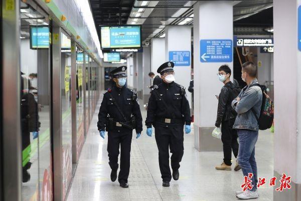 解除离汉通道管控首日,武汉交通、治安平稳有序 第2张