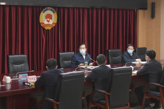 王忠林走访市人大常委会市政府市政协机关 推动武汉经济社会疫后重振 第6张