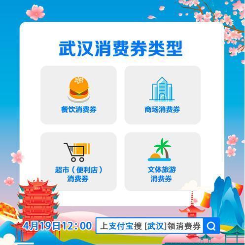 武汉将发放23亿消费券,4月19日首期7200万元将在这里领取 第2张