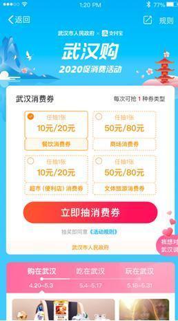 武汉将发放23亿消费券,4月19日首期7200万元将在这里领取 第7张
