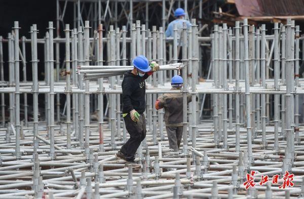 """市级城建交通重点工程复工复产率达到100%,武汉城市建设开启""""加速度""""模式 第2张"""