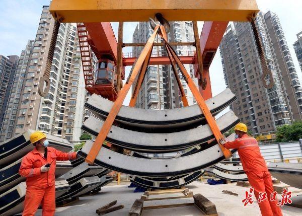 """市级城建交通重点工程复工复产率达到100%,武汉城市建设开启""""加速度""""模式 第1张"""
