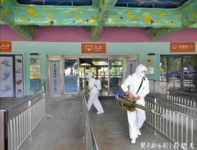 """医护人员免费!武汉市东西湖景区""""五一""""限流有序开放 第3张"""
