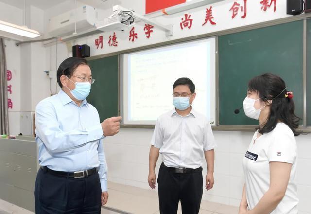 王忠林调研复学复课准备工作:周密制定预案,筑牢安全防线 第2张