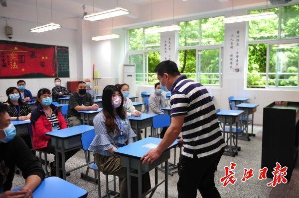 初三学生复学一天怎么玩?武汉市这一区中学应急预案演练为复课做准备 第3张