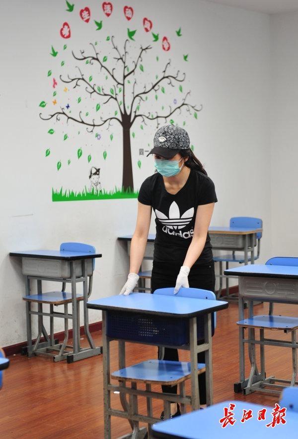 初三学生复学一天怎么玩?武汉市这一区中学应急预案演练为复课做准备 第5张