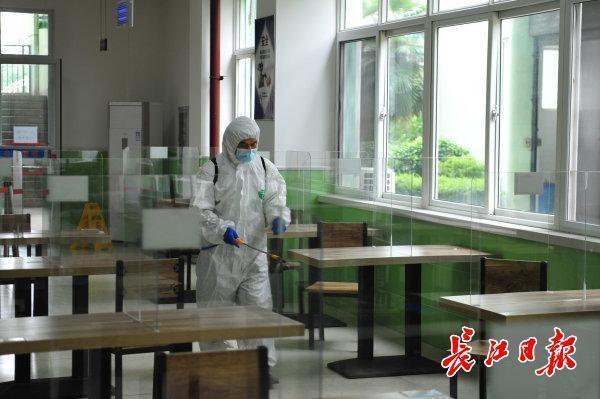 初三学生复学一天怎么玩?武汉市这一区中学应急预案演练为复课做准备 第6张