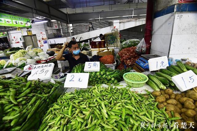 """种类丰富多彩供货充裕,武汉市""""一元菜""""愈来愈多 第4张"""
