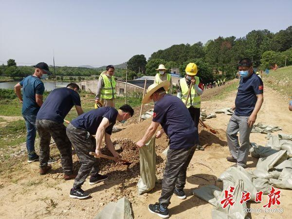 黄陂七座水利枢纽初次协同举行防洪应急预案演练 第3张