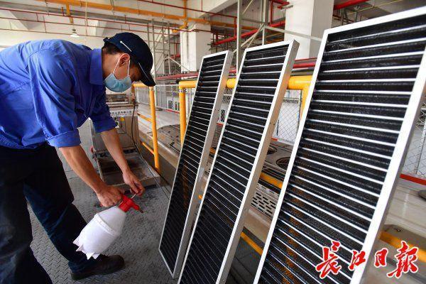 84消毒杀菌滤网、紫外光给气体杀菌,武汉地铁中央空调环境卫生防治那样做 第3张