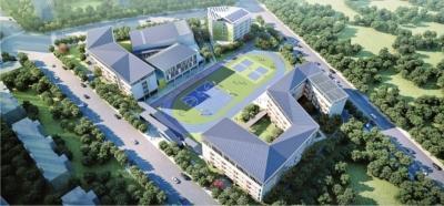 """称为""""武汉最智能化系统中小学"""",""""长江新城第一校""""2号楼建好 第1张"""