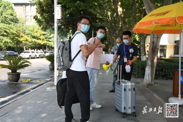 关心|不久,武汉市第一批在校大学生回校! 第7张