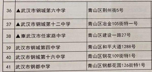 温度测量进场、加设预留考试场,武汉高考、初中升高中搞好各类提前准备(附78个初中升高中考试场名册) 第8张