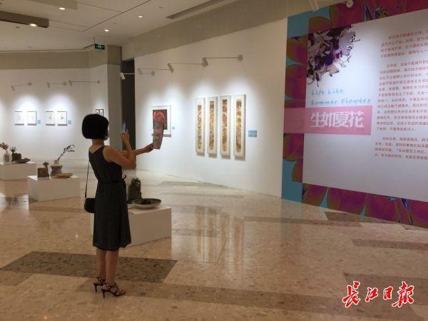 赞美性命之美,《生如夏花艺术展览》揭幕 第1张