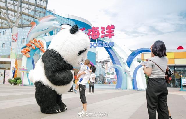 武汉欢乐谷完全免费当日人气值高,跨省万多名游人高兴儿童游乐园 第3张