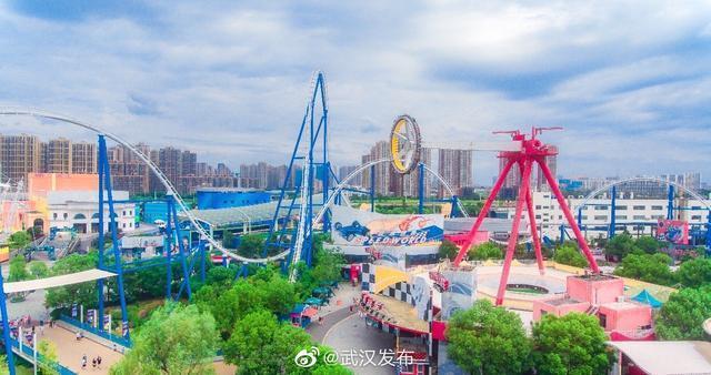 武汉欢乐谷完全免费当日人气值高,跨省万多名游人高兴儿童游乐园 第1张
