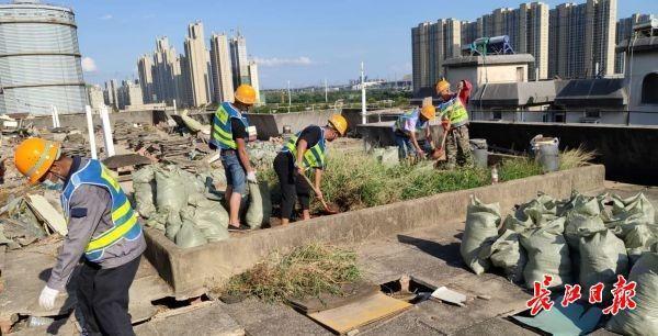 融合住户建议引入武汉钢铁原素,青山区129个老旧小区改造另外动工更新改造 第1张