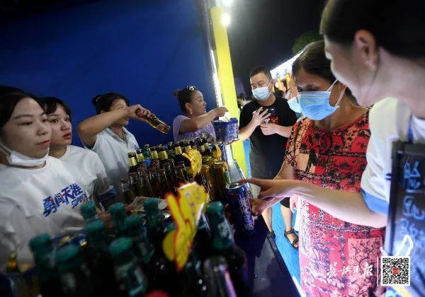 度假旅游|夜食 夜购 游览,今年武汉市啤酒节揭幕了! 第6张