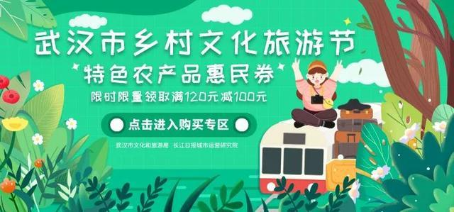 2020武汉市乡村文化旅游节产生特惠便民礼包 第8张