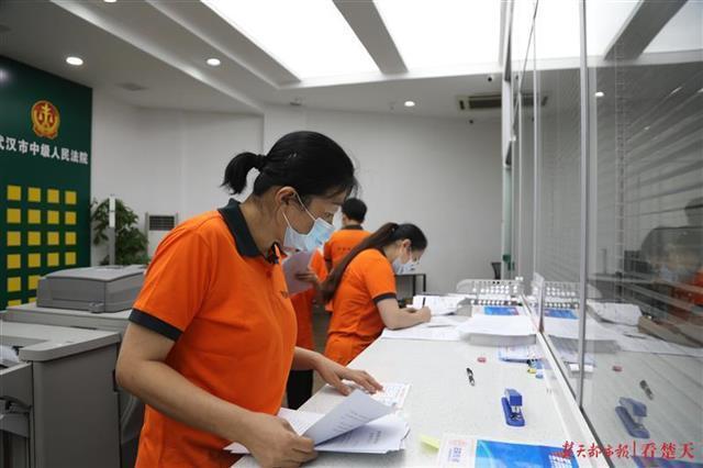 外地复印,同城速递,武汉市打开全国各地裁判文书聚合送到新模式 第1张