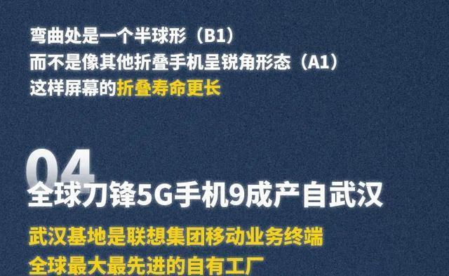 """""""武汉市造""""5G折叠手机全世界先发! 第14张"""
