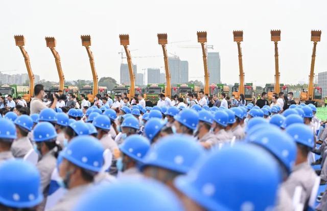 又一新城市地标!武汉天河国际性展览中心动工基本建设 第3张