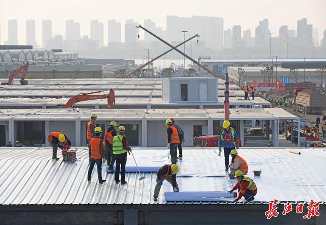 """中国的速度是由新闻推动的:""""两山""""医院在短短10多天内建成 第7张"""