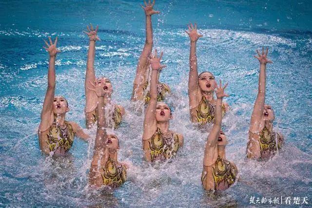 体育|备战东京奥运会,全国花样游泳比赛再次来到武汉 第4张