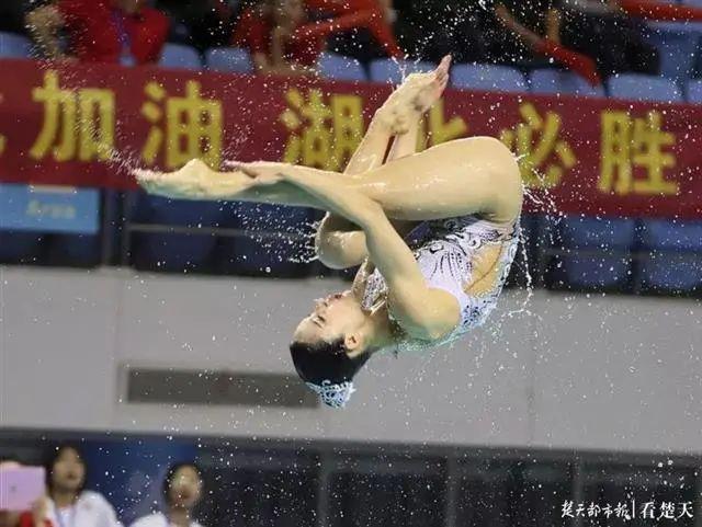 体育|备战东京奥运会,全国花样游泳比赛再次来到武汉 第5张
