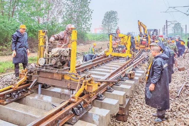 交通|中欧武汉火车新增一条车道,运力即将翻番 第2张