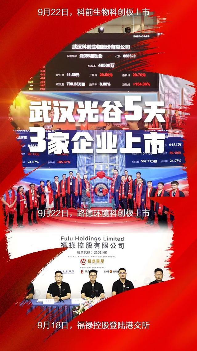 产经 武汉5天上市3家,光谷成为全国上市最密集的地区之一 第5张