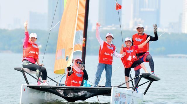 东湖赛展现出蓬勃的风采,武汉站2020帆船赛收帆 第3张
