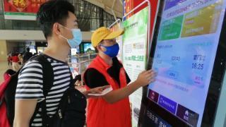 武汉三大火车站今天迎来了返程客流高峰 第1张