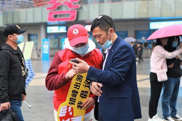 """武汉景区人气旺,志愿服务保障""""十一""""优质旅游 第5张"""