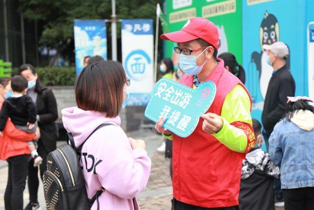 """武汉景区人气旺,志愿服务保障""""十一""""优质旅游 第4张"""