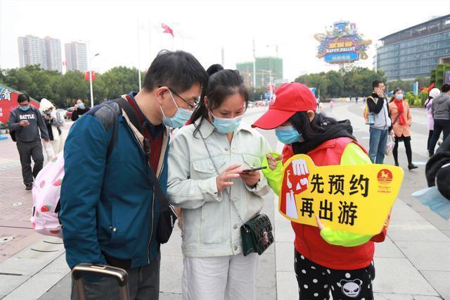 """武汉景区人气旺,志愿服务保障""""十一""""优质旅游 第8张"""