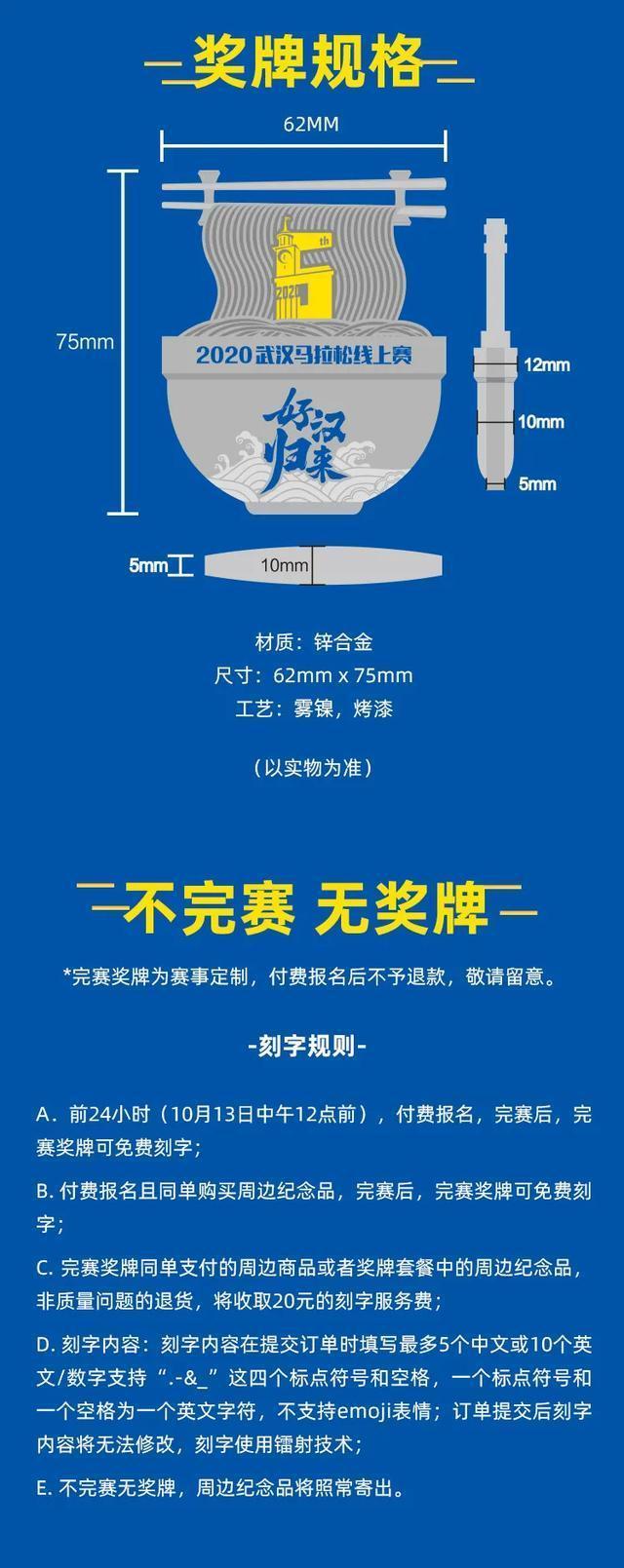 2020年10月12日武汉马拉松在线大赛开始,800个2021汉马贯通名额等着你! 第9张