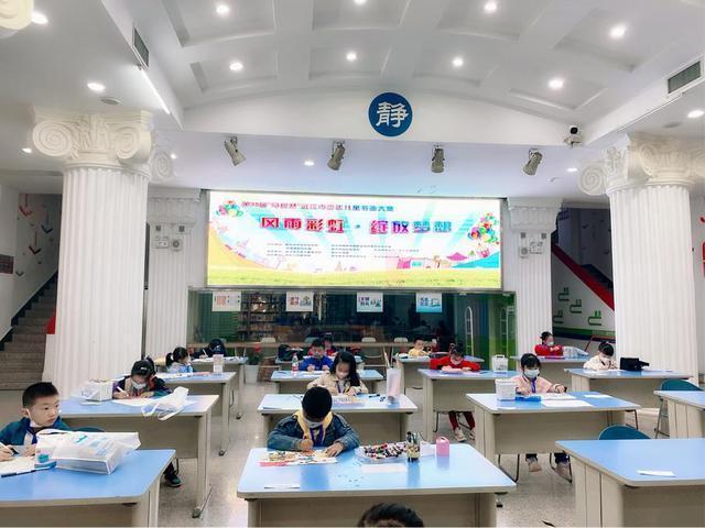 400多名武汉市少年儿童书画大赛今天举行 第1张